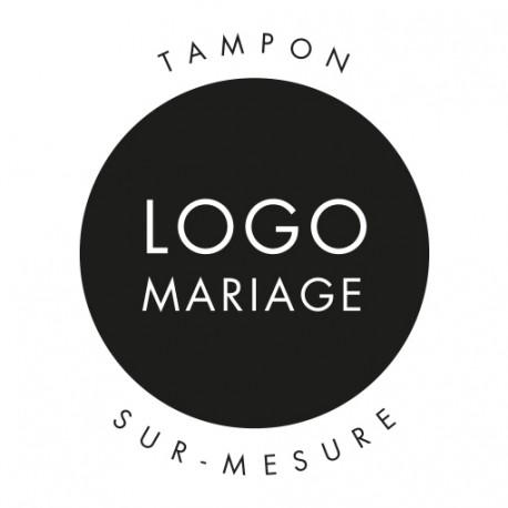 Tampon sur-mesure logo mariage