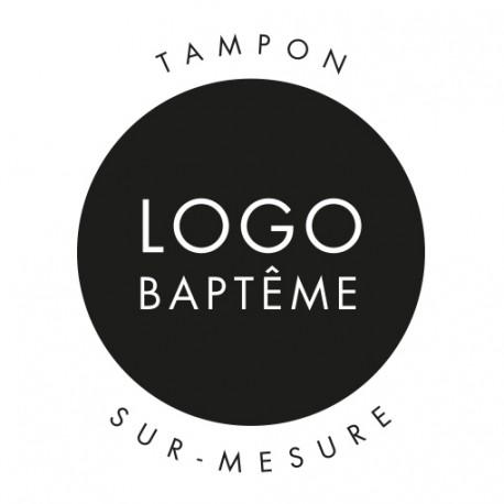 Tampon baptême, design sur-mesure