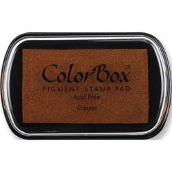 Encreur Colorbox standard, couleur cuivre