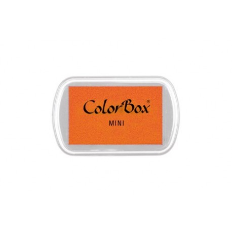 Mini encreur Colorbox standard, couleur orange