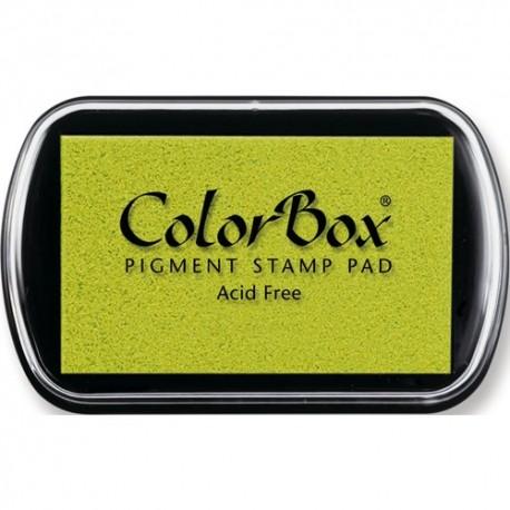 Encreur Colorbox standard, couleur vert pistache pour tampon personnalisé