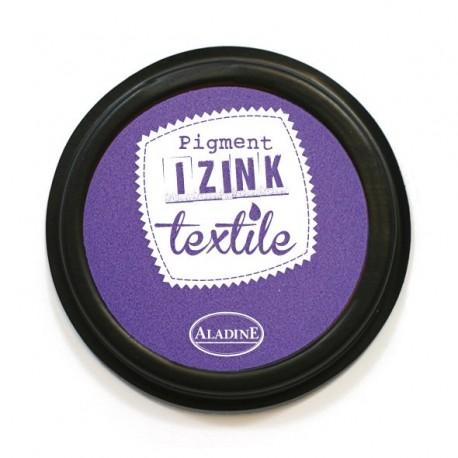 Encreur textile violet grenache personnalisation pochons lin
